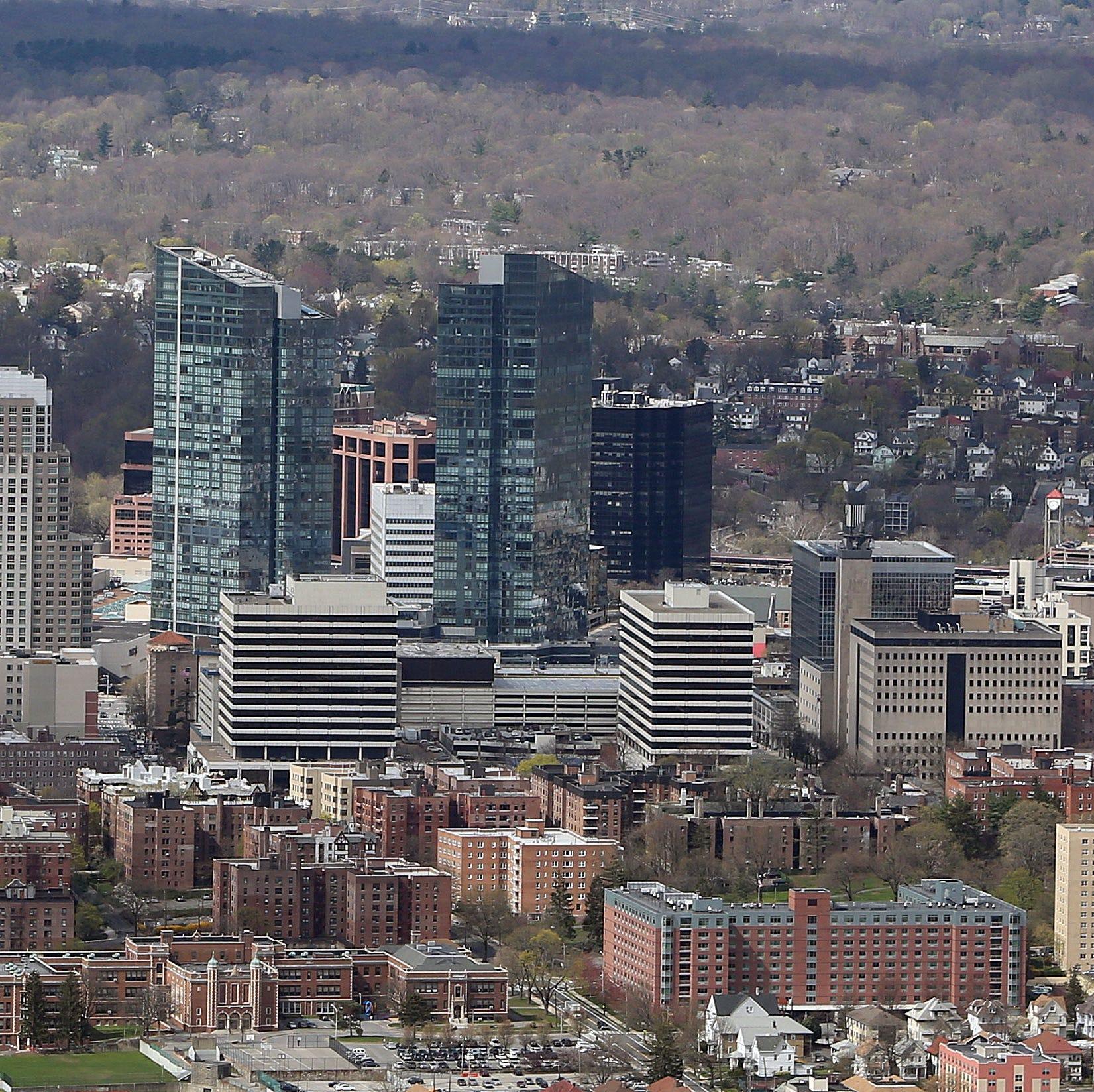 White Plains morphing into metropolis