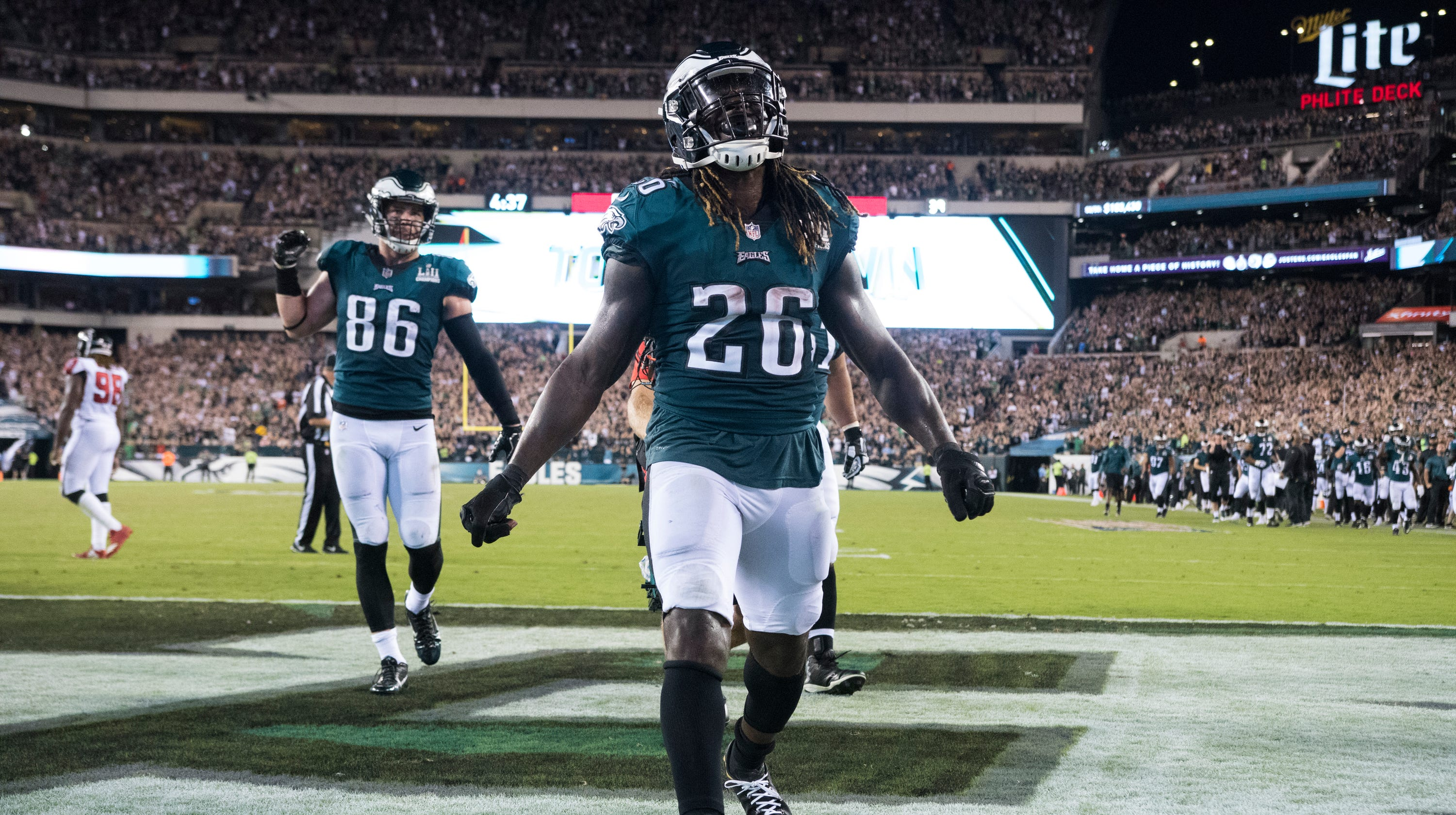 27b97e73751 Eagles place running back Jay Ajayi on IR; could a Le'Veon Bell trade be  next?