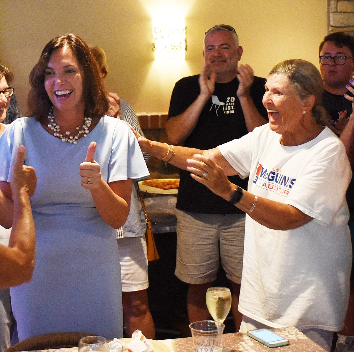 McGuiness wins close 3-way Democratic primary for auditor