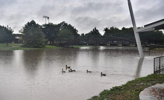 A dam in Sikes Lake could be removed to allow more water into the reservoir as one of many projects in a $15 million flood mitigation plan for the Quail Creek area.