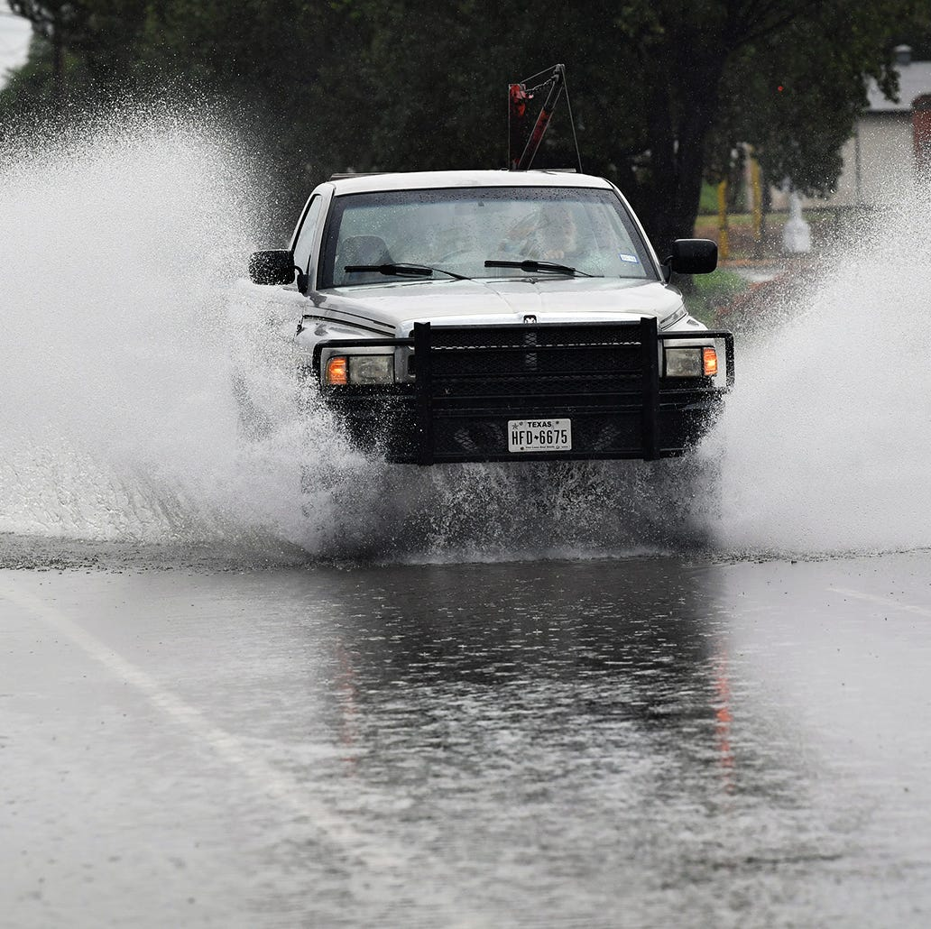 National Weather Service: Expect heavy rainfall, Wichita Falls in slight risk