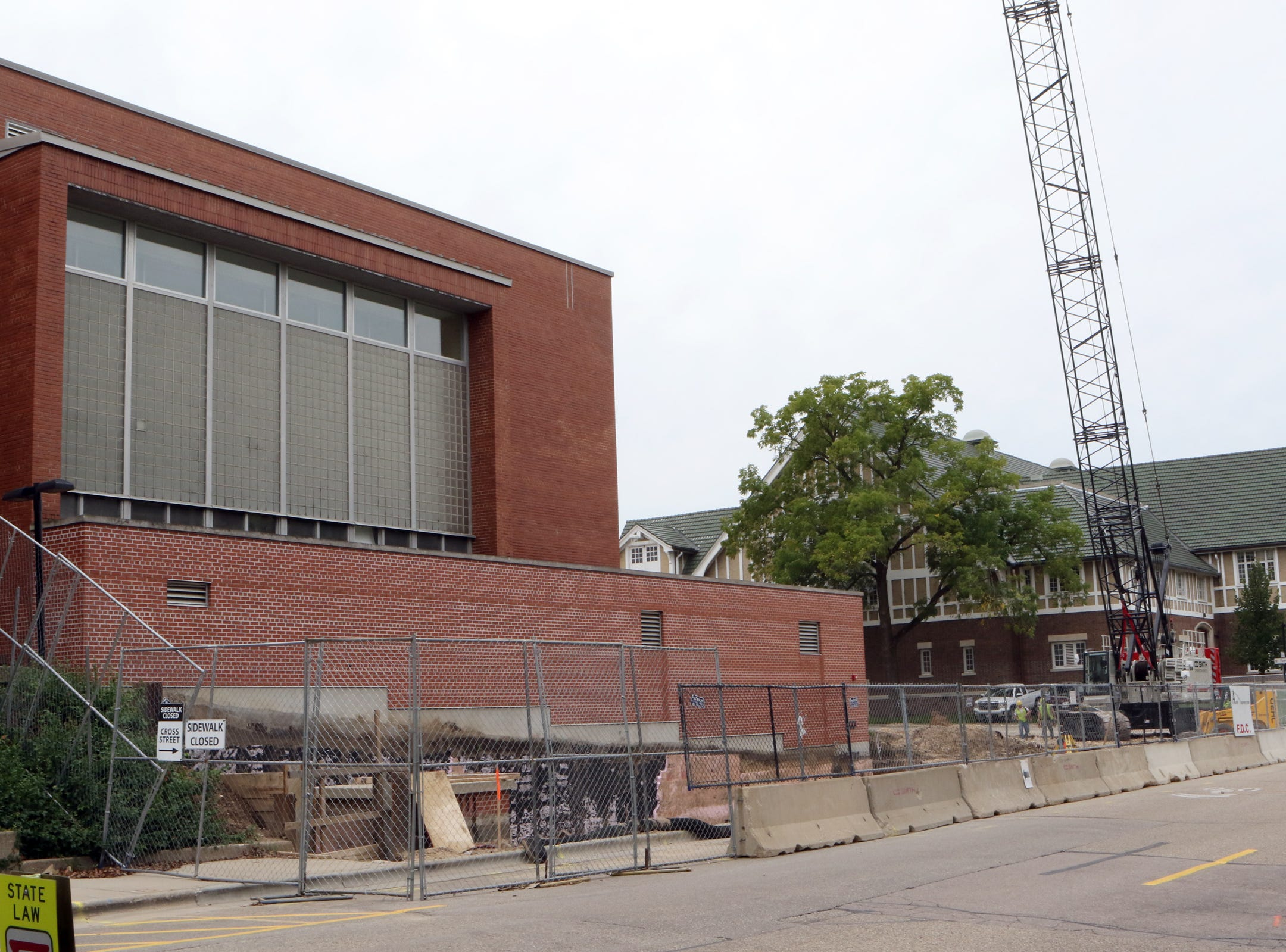 Work has begun on a $47 million construction and renovation project for UW–Madison's Babcock Hall Dairy Plant and Center for Dairy Research. The project will be completed in three phases with completion anticipated later in 2020.