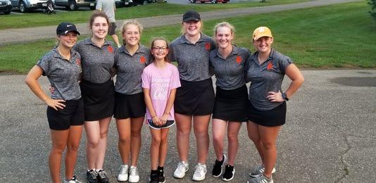 Ridgewood girls golf