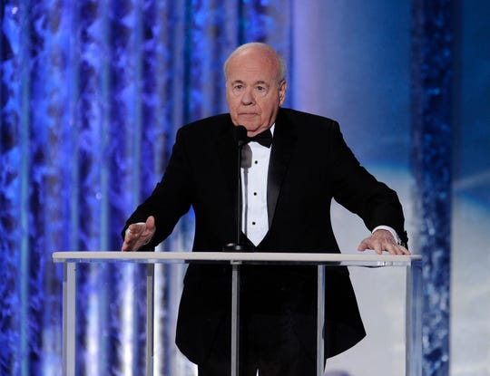 Tim Conway introduces Ernest Borgnine tribute during the 17th annual SAG Awards in Los Angeles in January 2011.