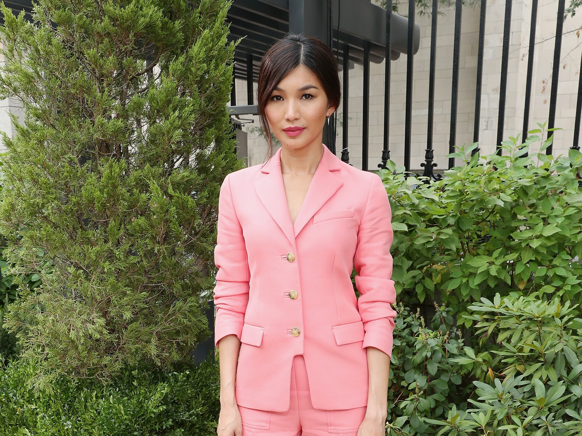 NEW YORK, NY - SEPTEMBER 07: Gemma Chan attends the Tory Burch Spring Summer 2019 Fashion Show at Cooper Hewitt, Smithsonian Design Museum on September 7, 2018 in New York City.  (Photo by Cindy Ord/Getty Images for Tory Burch) ORG XMIT: 775216252 ORIG FILE ID: 1028459528