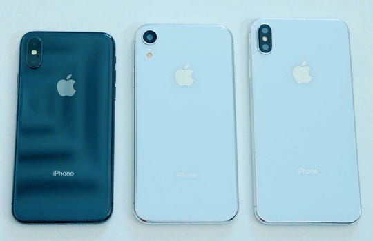 Three different iPhones are expected to be unveiled by Apple on Sept. 12, including a less expensive 6.1-inch LCD model.