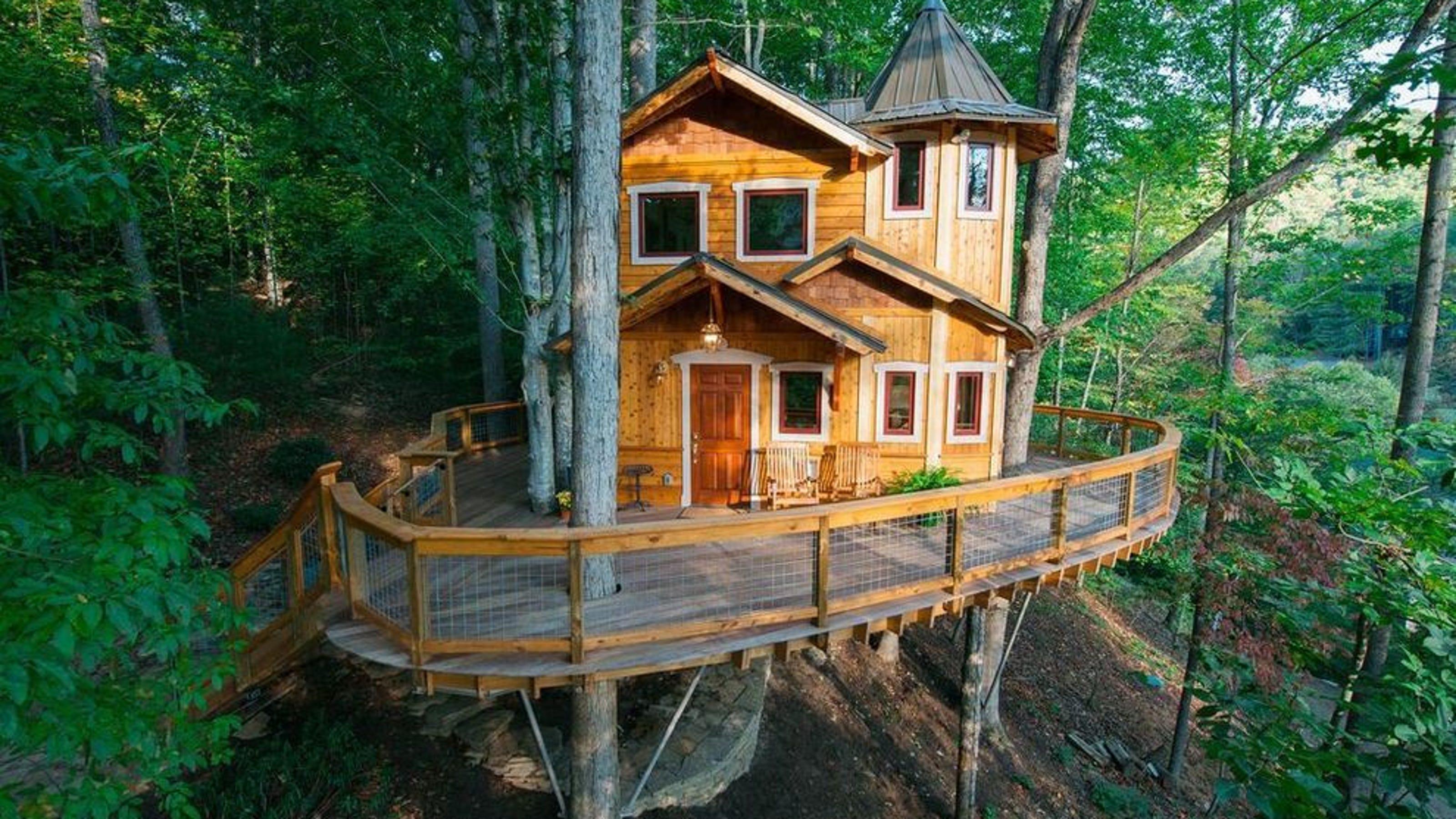 You 39 ll want to spend the night in these 10 treehouses for Kentucky dream homes floor plans