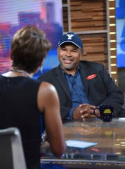 """Geoffrey Owens spoke with """"Good Morning America"""" co-host Robin Roberts Tuesday."""