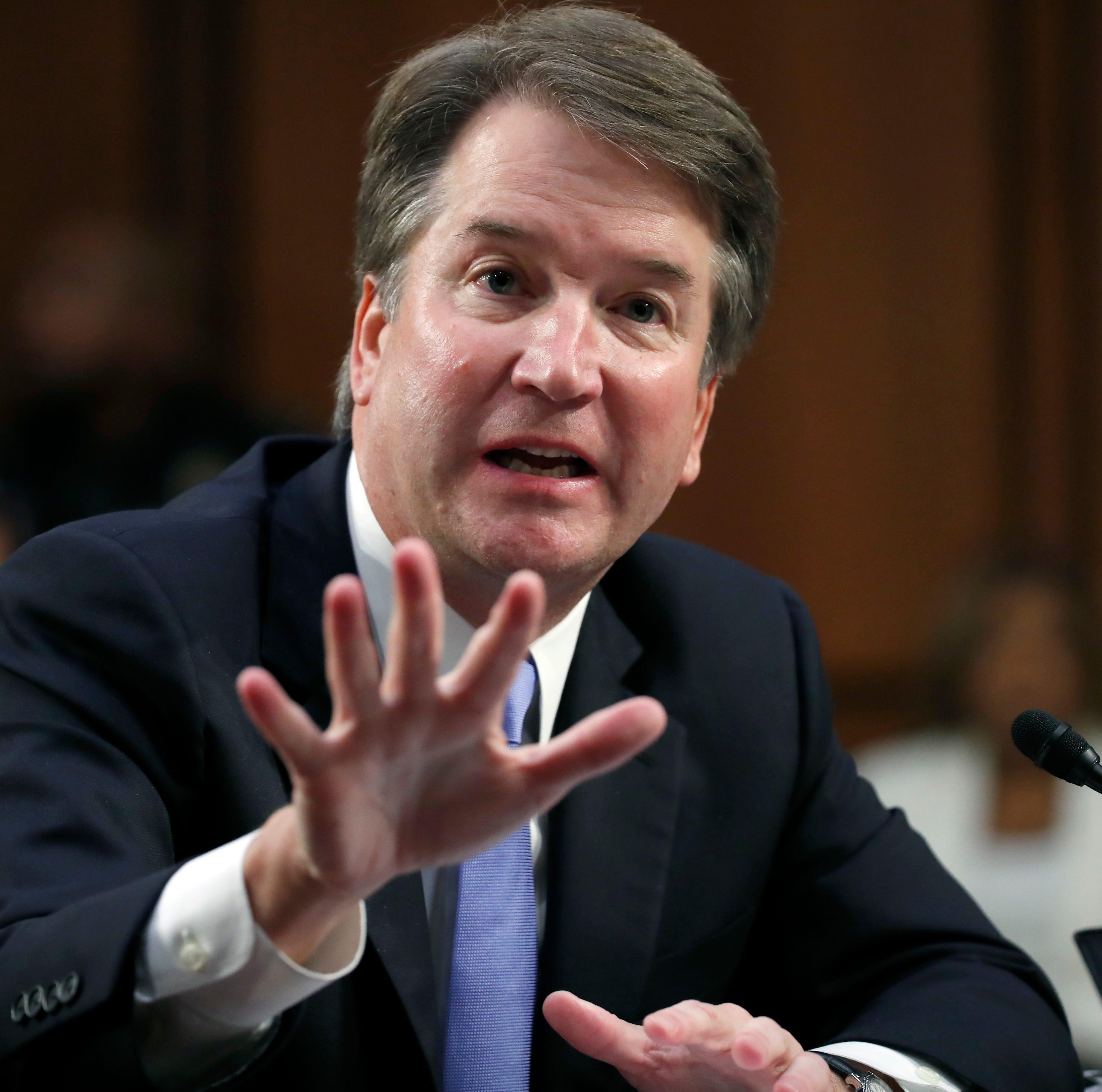 LETTER: Hypocrisy, grandstanding on Kavanaugh vote