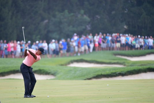 Tiger Tracker: Putting woes get best of Tiger Woods, shoots even par in second round at BMW