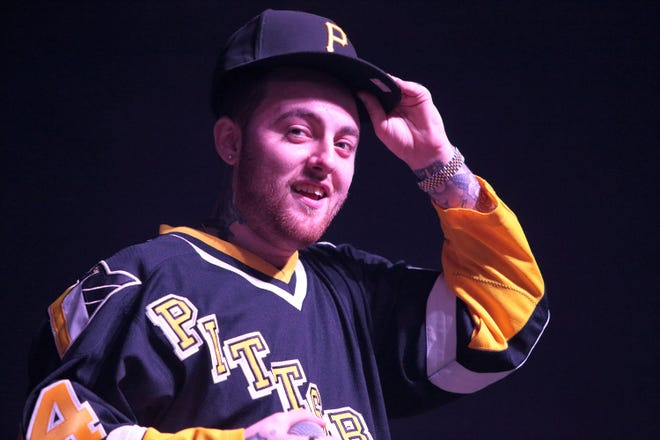 Rapper Mac Miller performs in concert at The Fillmore on Dec. 12, 2015, in Philadelphia.