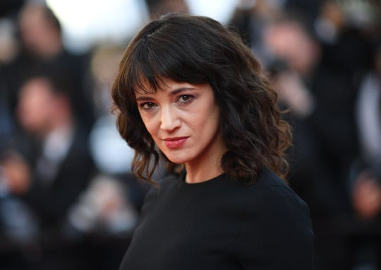 Actress Asia Argento at the Cannes Film Festival in May.