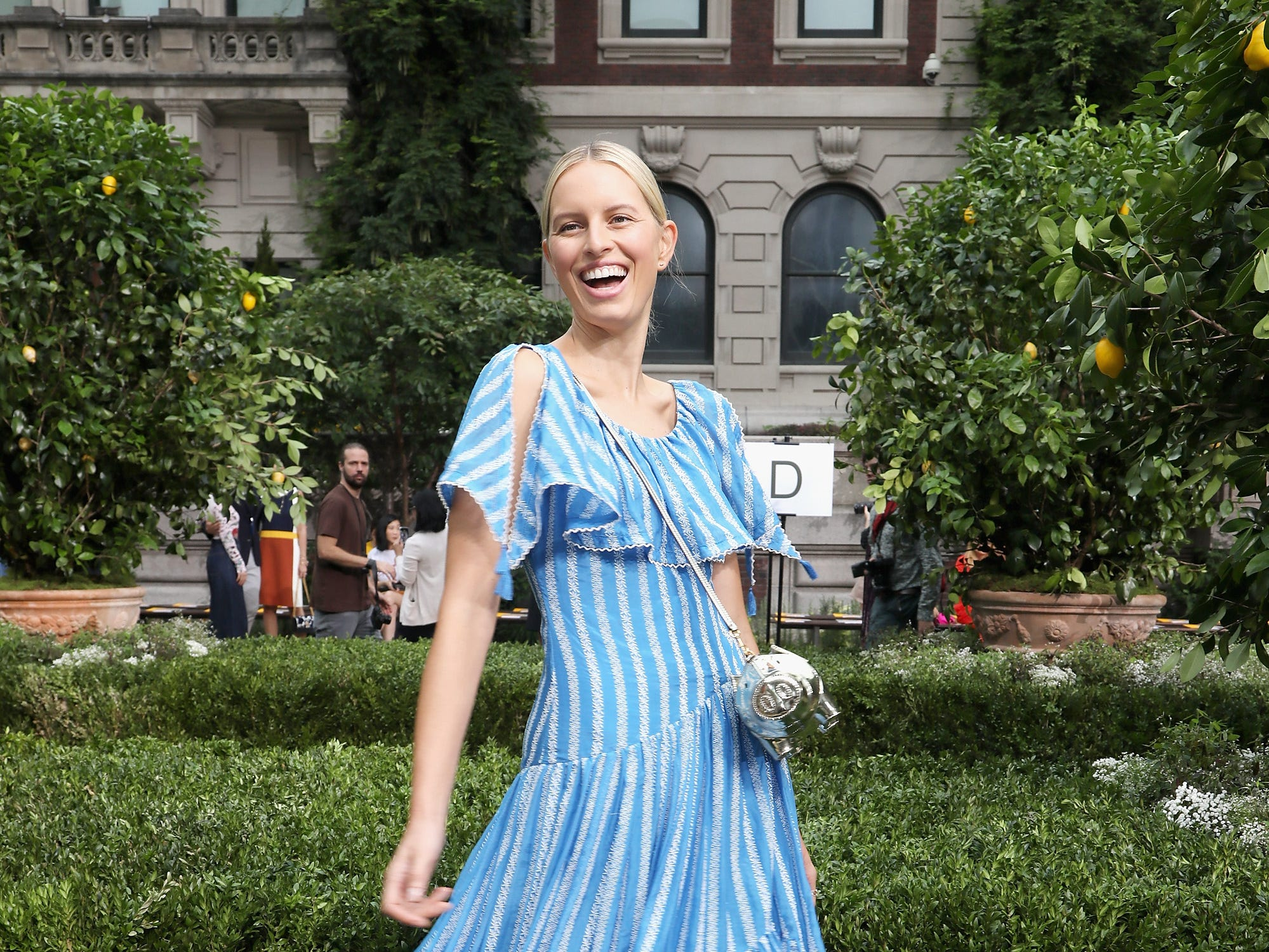 NEW YORK, NY - SEPTEMBER 07:  Model Karolina Kurkova attends the Tory Burch Spring Summer 2019 Fashion Show at Cooper Hewitt, Smithsonian Design Museum on September 7, 2018 in New York City.  (Photo by Anna Webber/Getty Images for Tory Burch) ORG XMIT: 775216252 ORIG FILE ID: 1028459724
