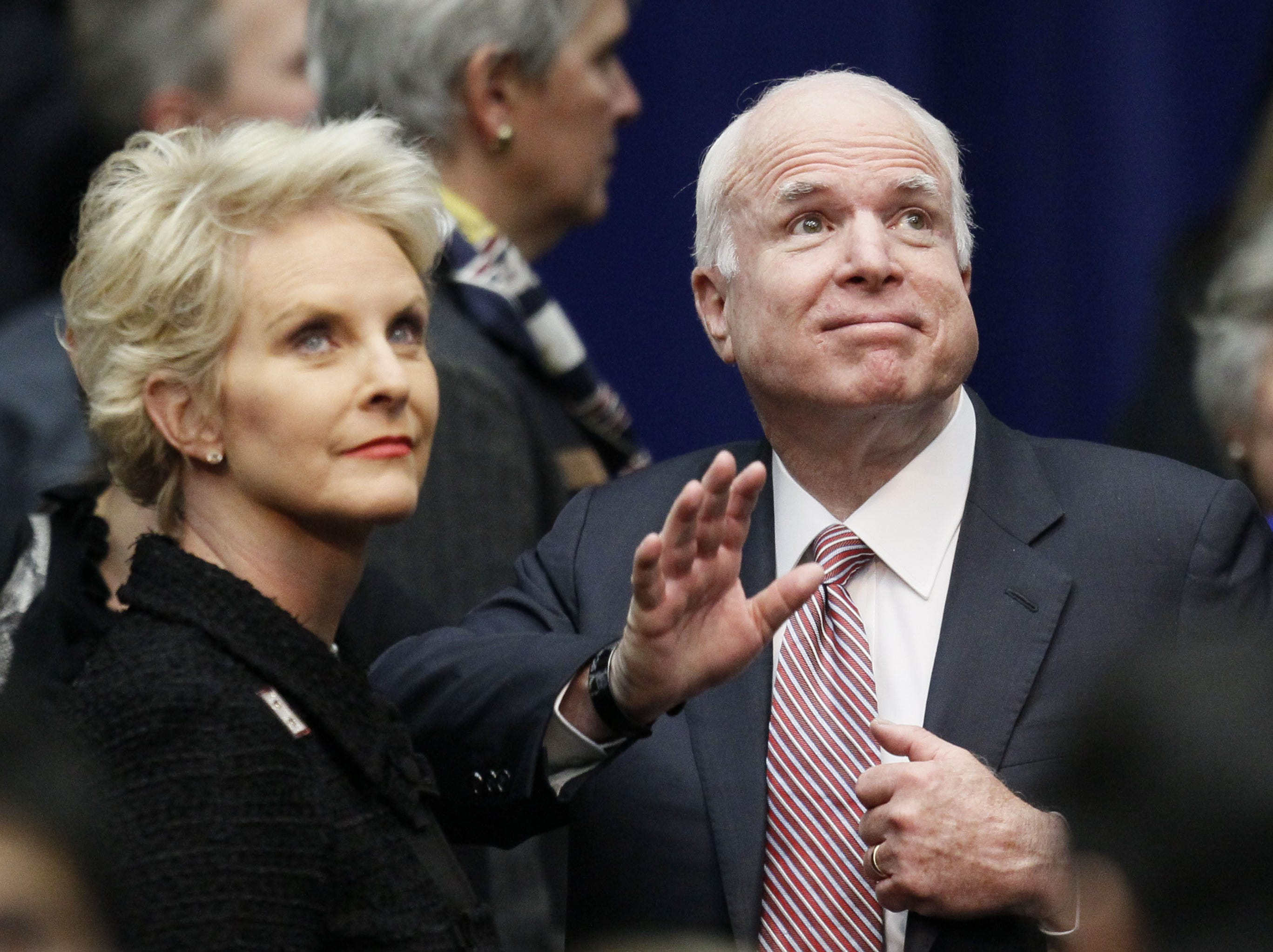 Cindy McCain responds to report her family supports Biden in 2020, has 'no intention' to get involved