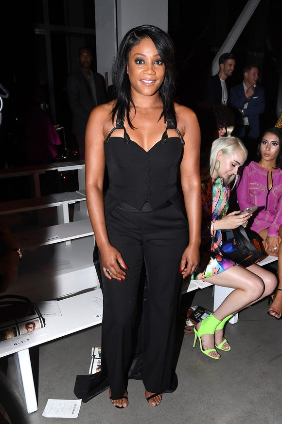 Tiffany Haddish at Jeremy Scott.