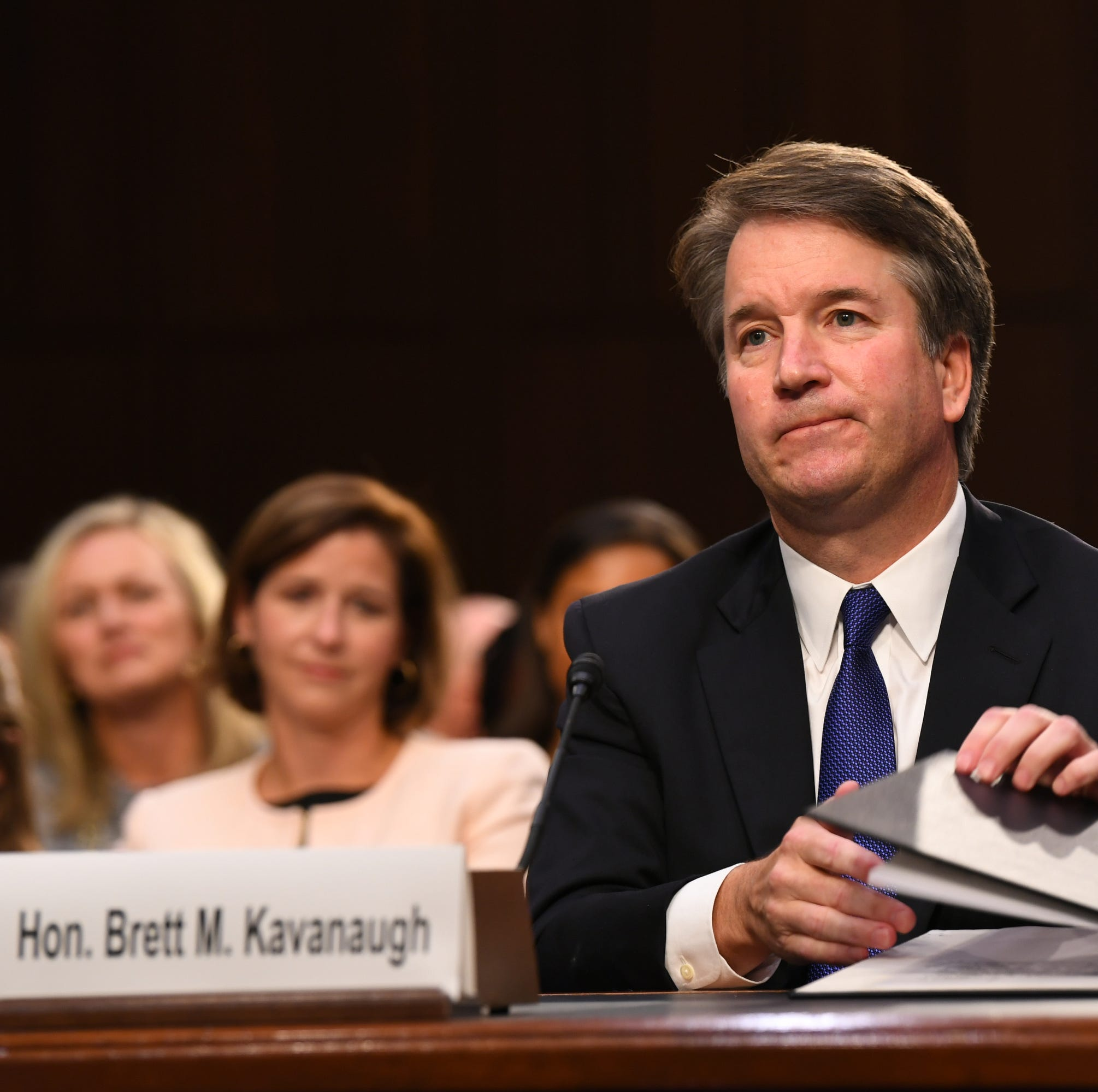 Supreme Court nominee Brett Kavanaugh drew praise and opposition Friday as his confirmation hearing drew to a close.