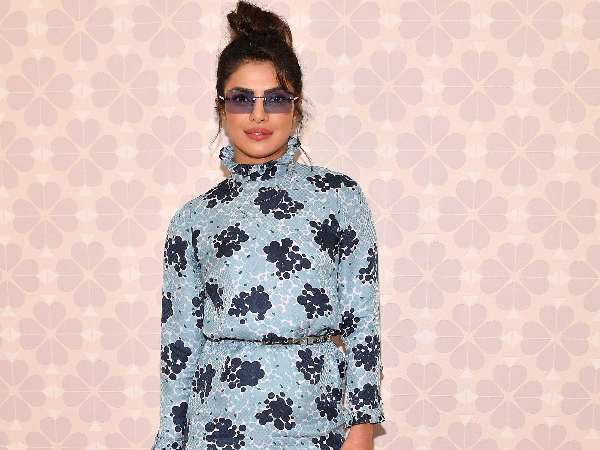 NEW YORK, NY - SEPTEMBER 07:  Actress Priyanka Chopra attends the Kate Spade New York Fashion Show during New York Fashion Week at New York Public Library on September 7, 2018 in New York City.  (Photo by Dia Dipasupil/Getty Images) ORG XMIT: 775216258 ORIG FILE ID: 1028556734