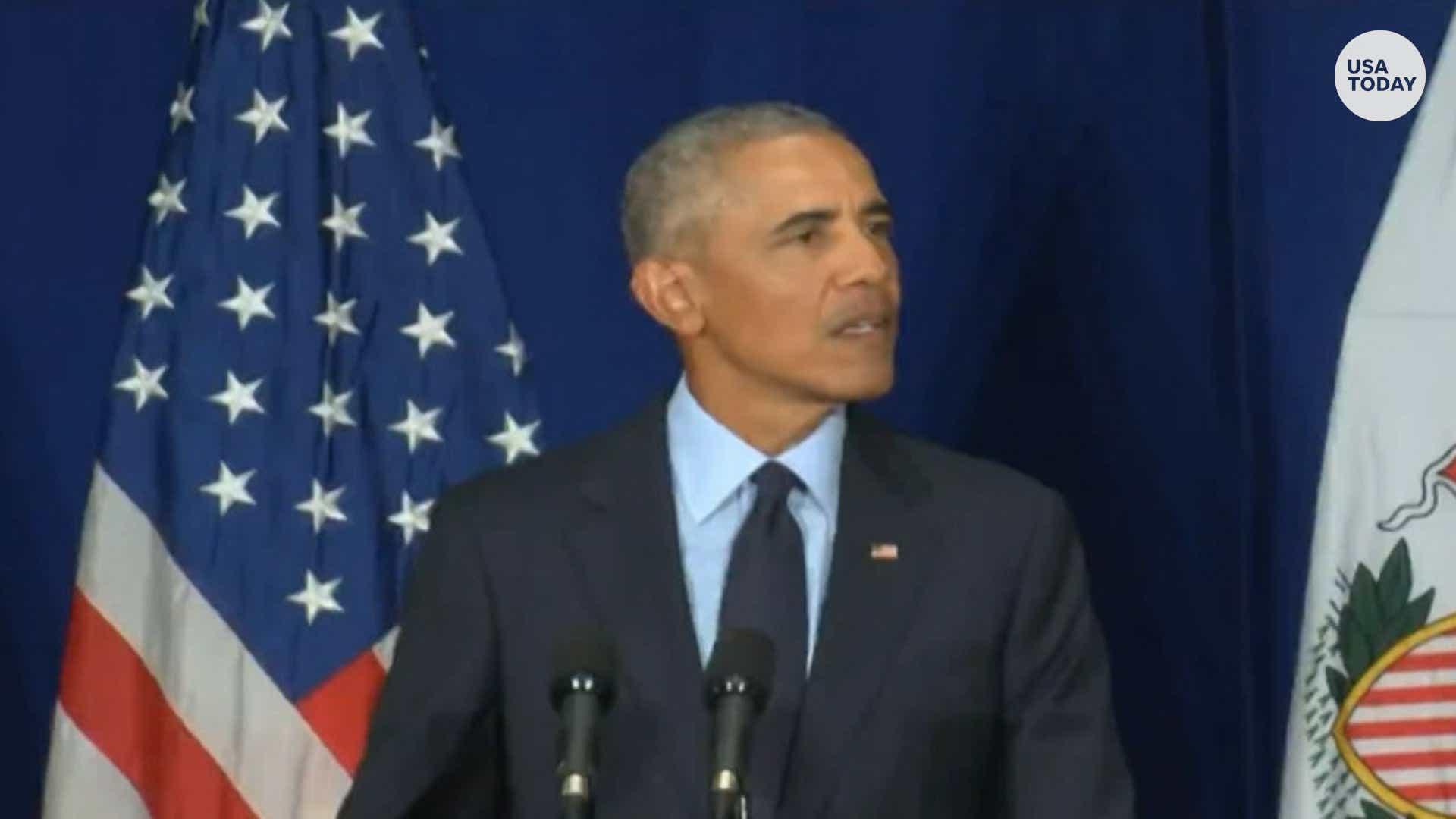 President Barack Obama S Speech Transcript Slamming Trump