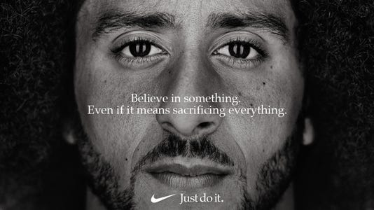 reddit post features colin kaepernick in phony ford ad
