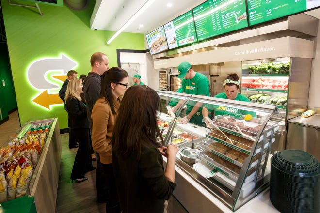 Subway Restaurants is overhauling its stores as part of the brand's Fresh Forward initiative.