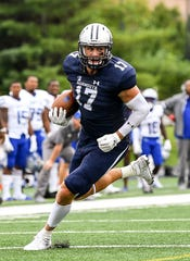 Monmouth tight end Jake Powell caught a pair of touchdown passes on Saturday.