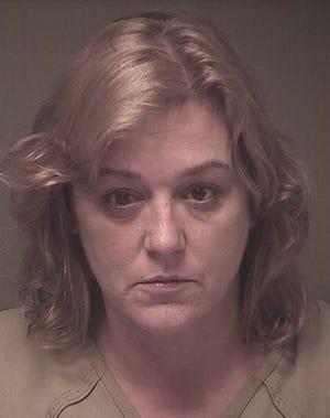 Mug shot of Tamara Bailey photographed on Saturday at the Ocean County Jail.