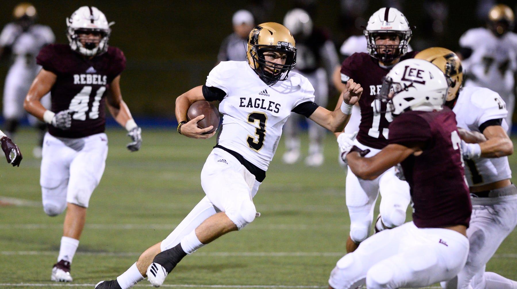 Abilene High Football Wins A Tight One Over Lee