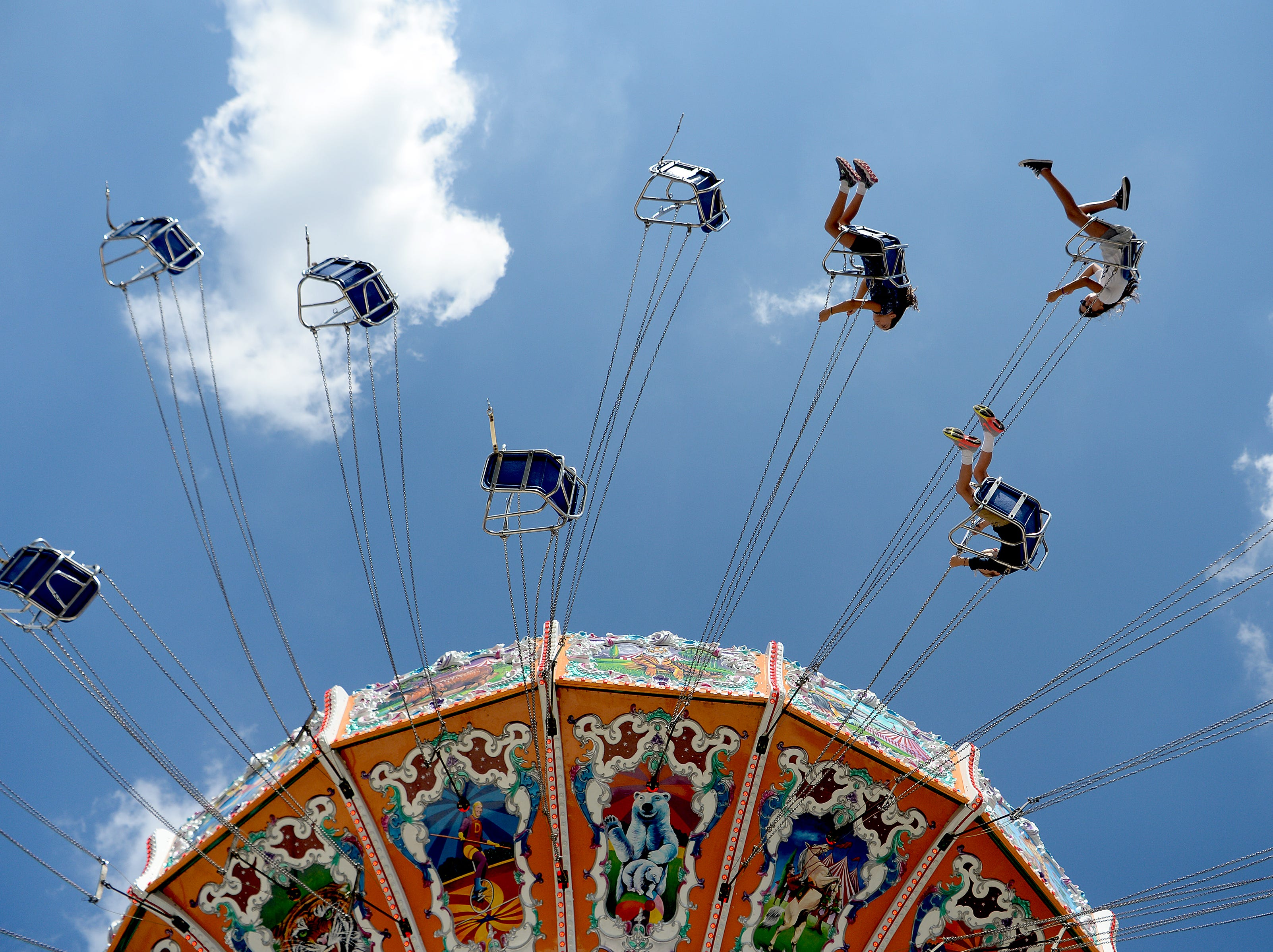 The 2018 NC Mountain State Fair opened with rides, games, shows, exhibits, livestock and more at the WNC Agricultural Center on Sept. 7, 2018.