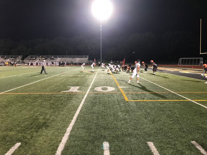 Corning visited Union-Endicott Friday night, and a thriller unfolded.