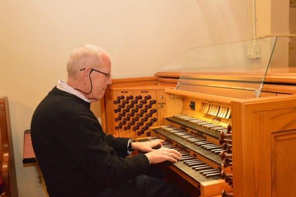 Concert organist Philip Manwell plays Bach to commemorate the 20th anniversary of Port Madison Lutheran Church's custom pipe organ at 2:30 p.m. Sept. 16.