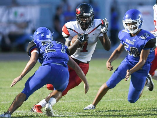 High School Football Palm Bay At Heritage