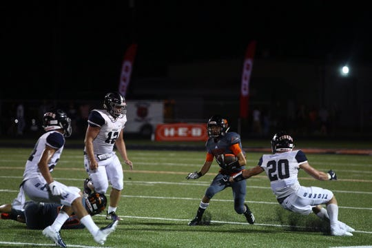 The Refugio Bobcats take on the Goliad Tigers in Week 2 of Texas high school football.