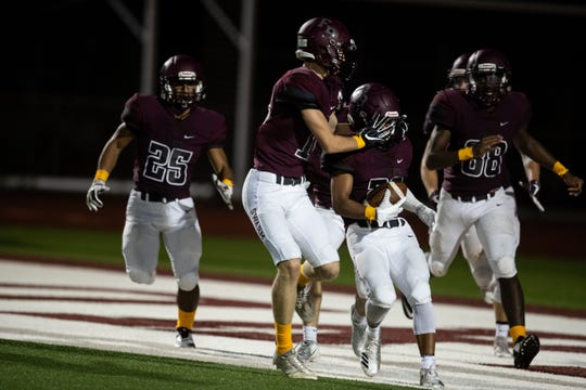 Flour Bluff defeats Calallen 33-28 at Hornets Stadium on Friday, Sept. 7, 2018.
