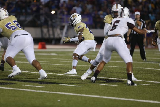 The Miller Bucs take on the Sinton Pirates at Buc Stadium in Week 2 of Texas high school football.