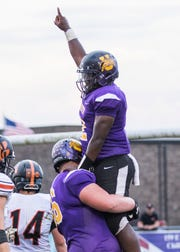 Unioto's Jamarcus Carroll finished the season second in the SVC in rushing with 1,329 yards.