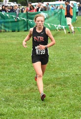 Jenna Burns of New Richmond took second place in the varsity girls small school race at the 44th Annual Mason Cross Country Invitational, Sept. 8, 2018.