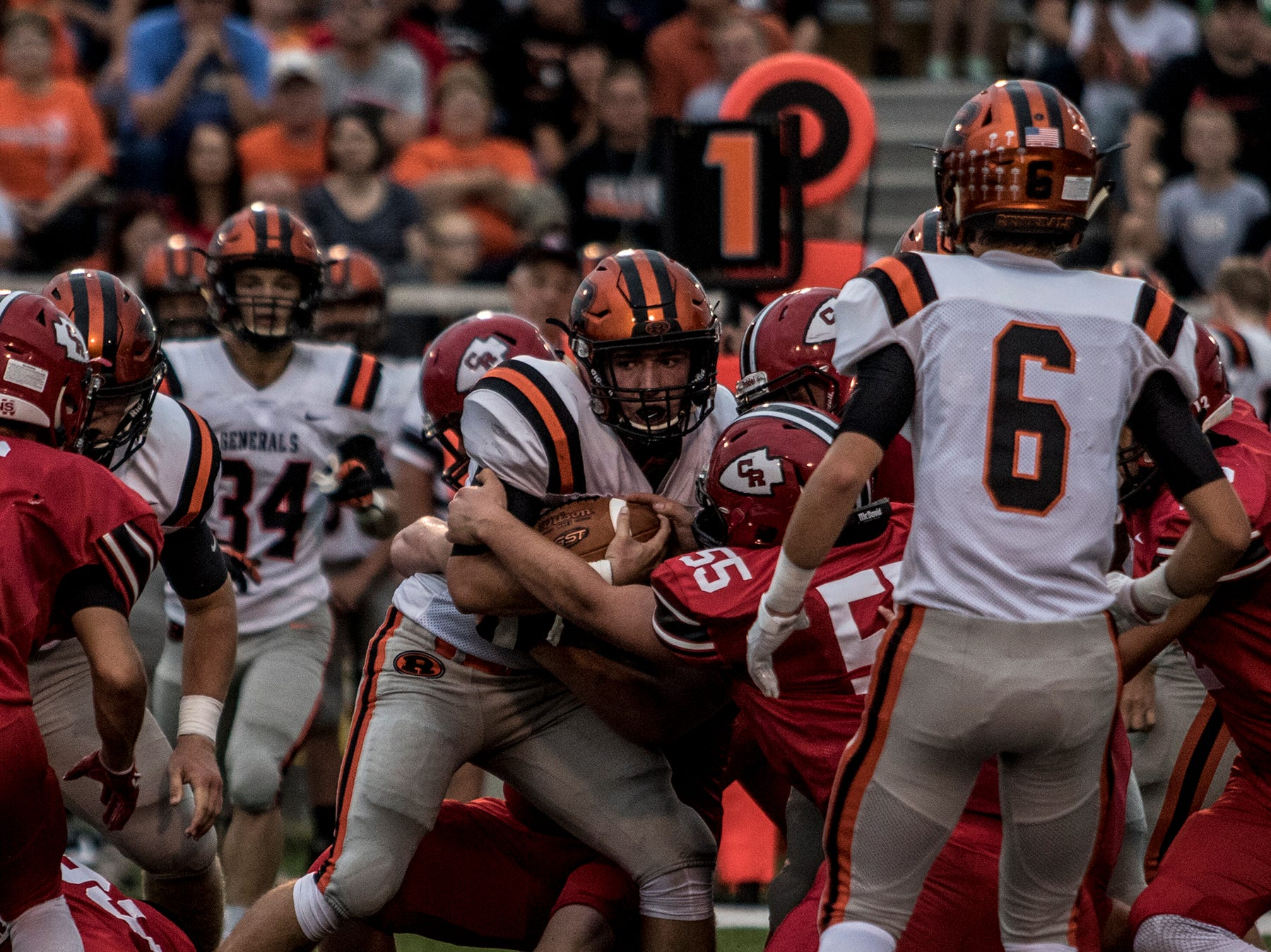 Coshocton hosted Ridgewood Friday night, but the Redskins could not hold off the Generals, who took the win 34-20.