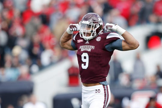 Mississippi State's Montez Sweat played at Michigan State from 2014-15.