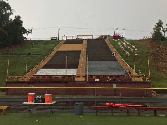 "Mount Carmel's Riverview Stadium, aka ""The Snake Pit"""