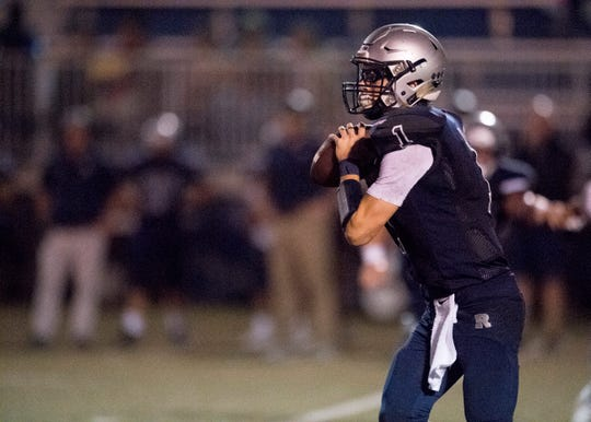 Reitz quarterback Eli Wiethop had three total touchdowns (two passing, one rushing) for the Panthers in a win over Harrison. Reitz faces No. 1 Memorial next week.