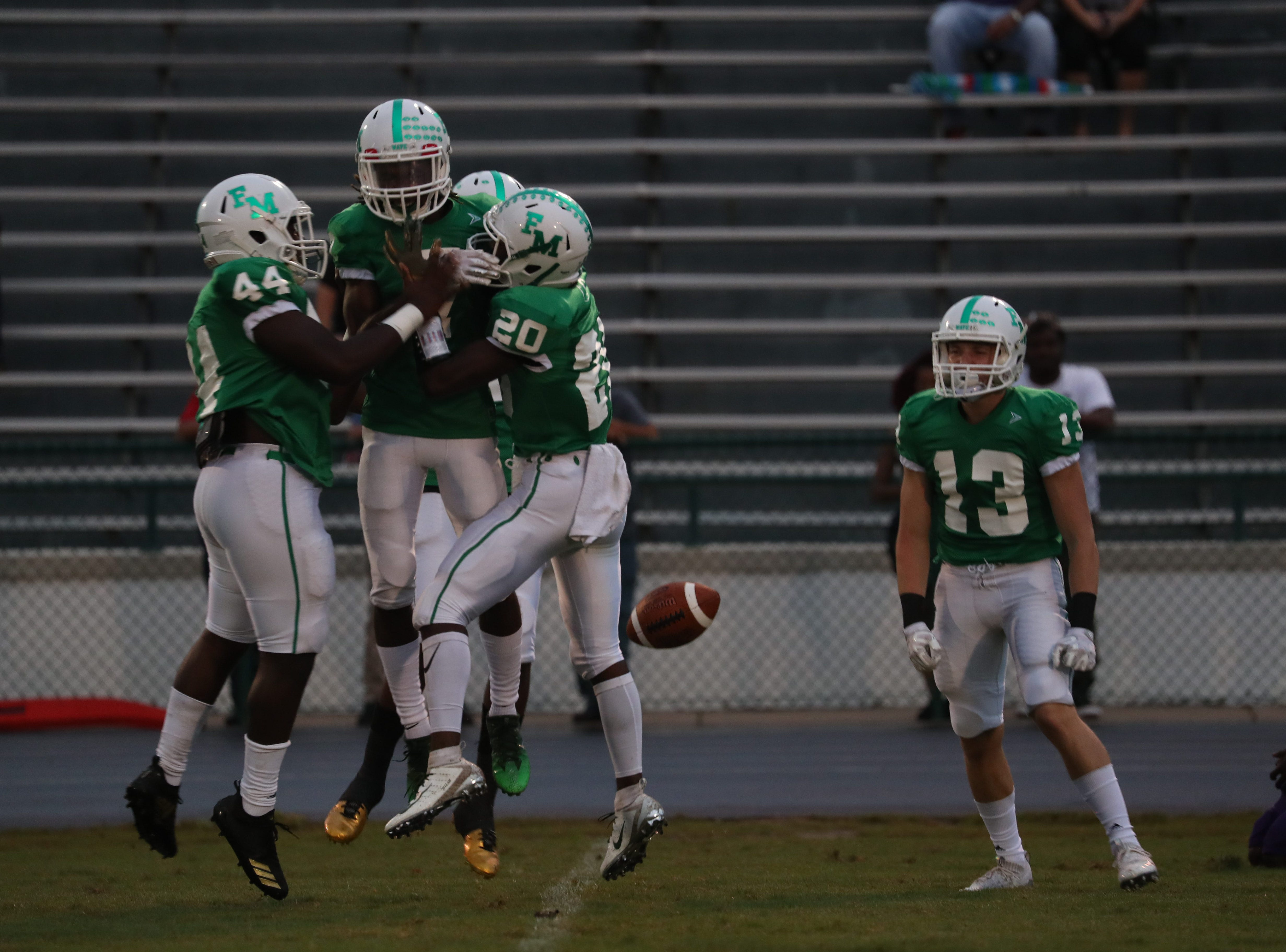 Fort Myers takes on Cypress Lake in high school football on Friday, September 7, 2018, at Fort Myers High School. Fort Myers won 42-27.