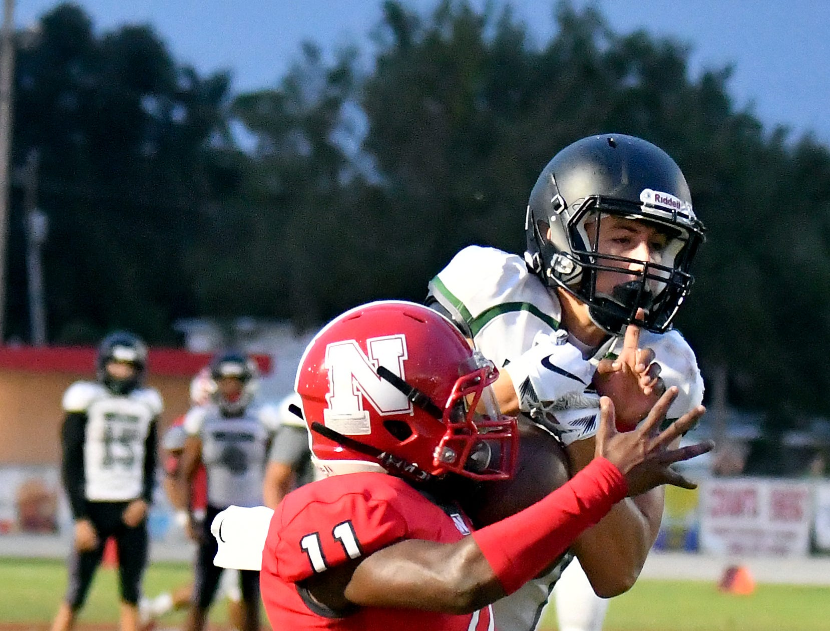 North Fort Myers High School host Palmetto Ridge High School, Friday, Sept. 7, 2018. (Chris Tilley/Special to the Naples Daily News)