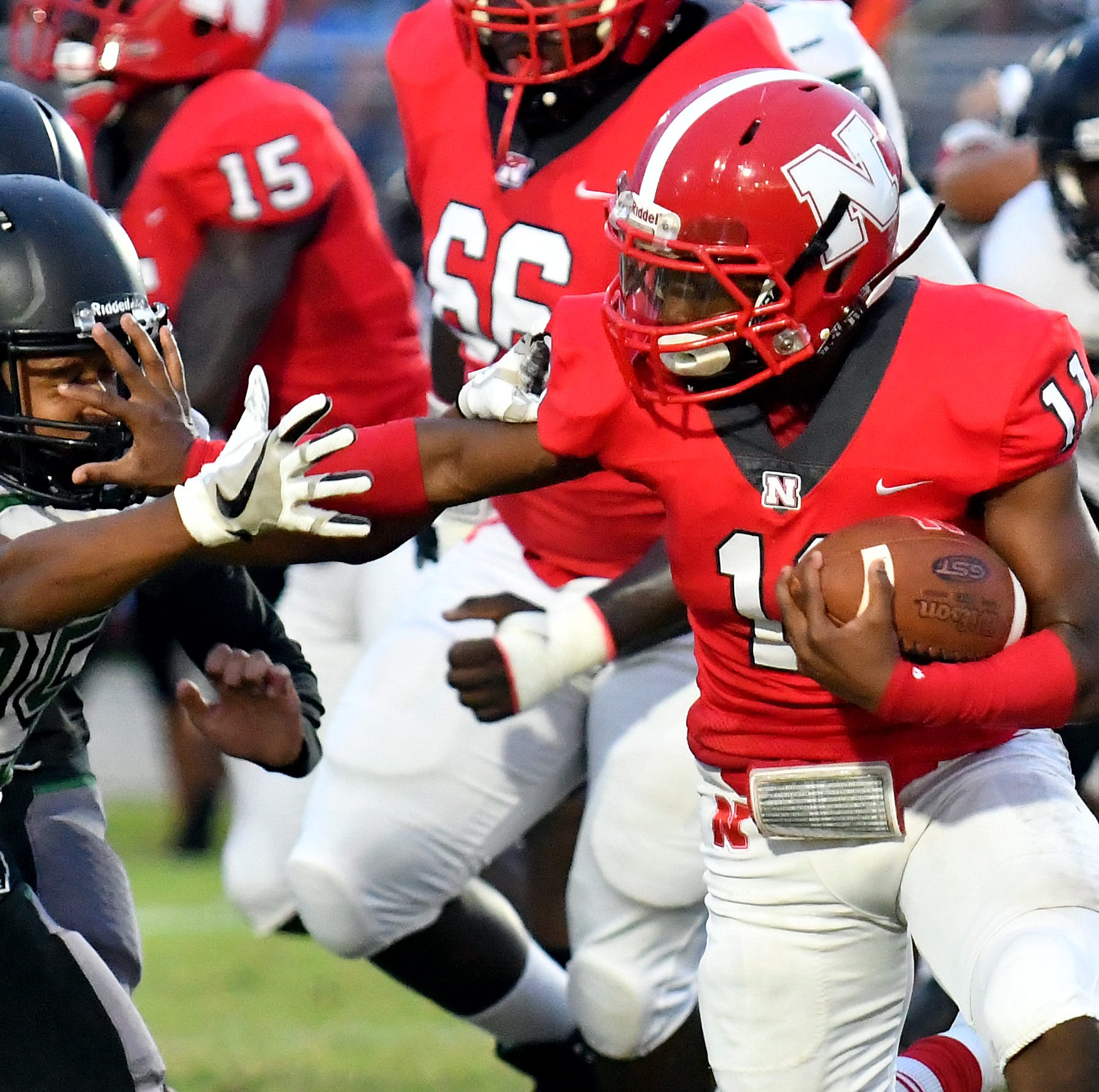 Good genes: Football success runs in family for pint-sized Red Knights powerhouse Shomari Mason