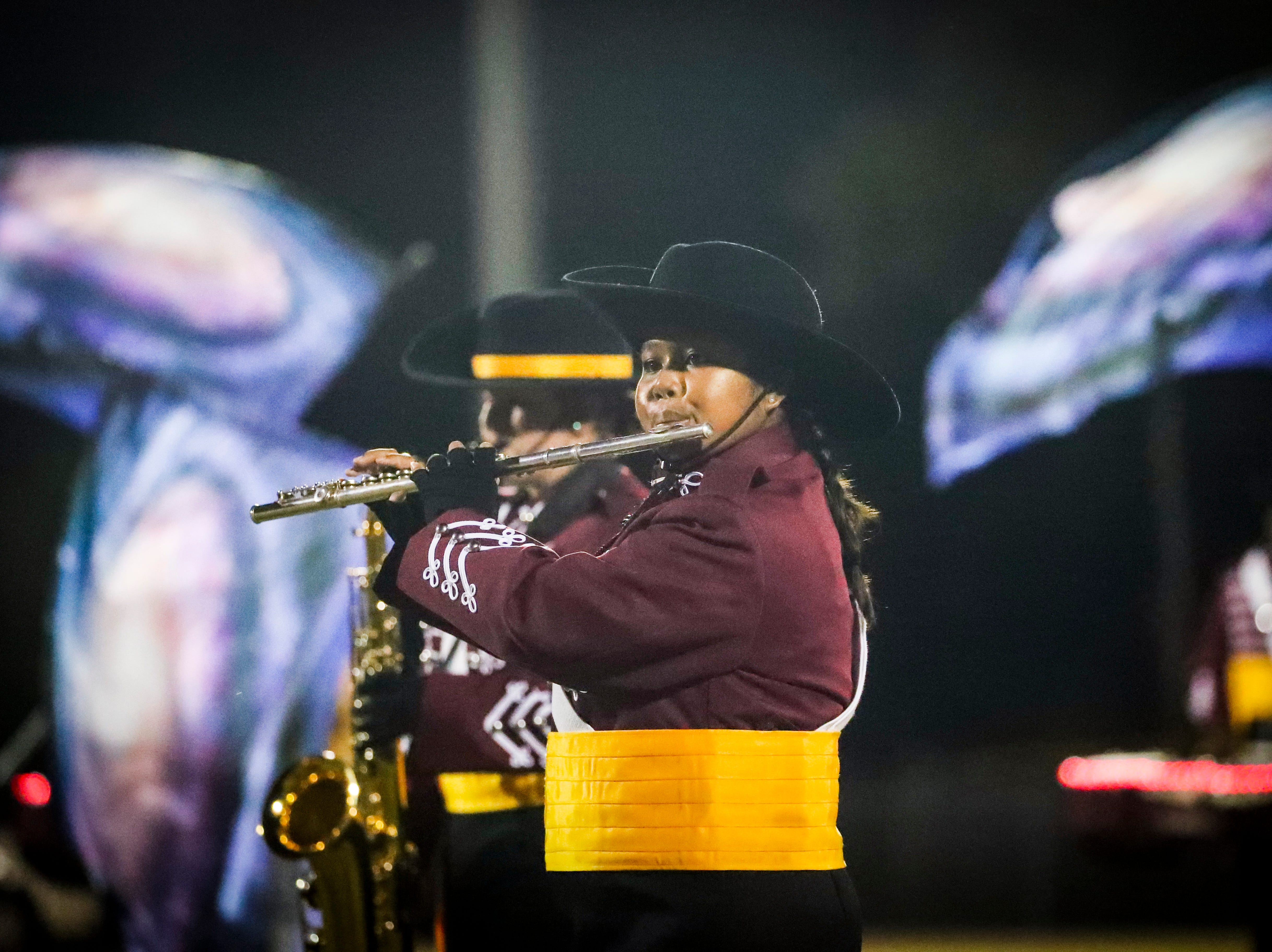Images from the Dunbar at Riverdale high school football game, Friday, September 8th,2018.
