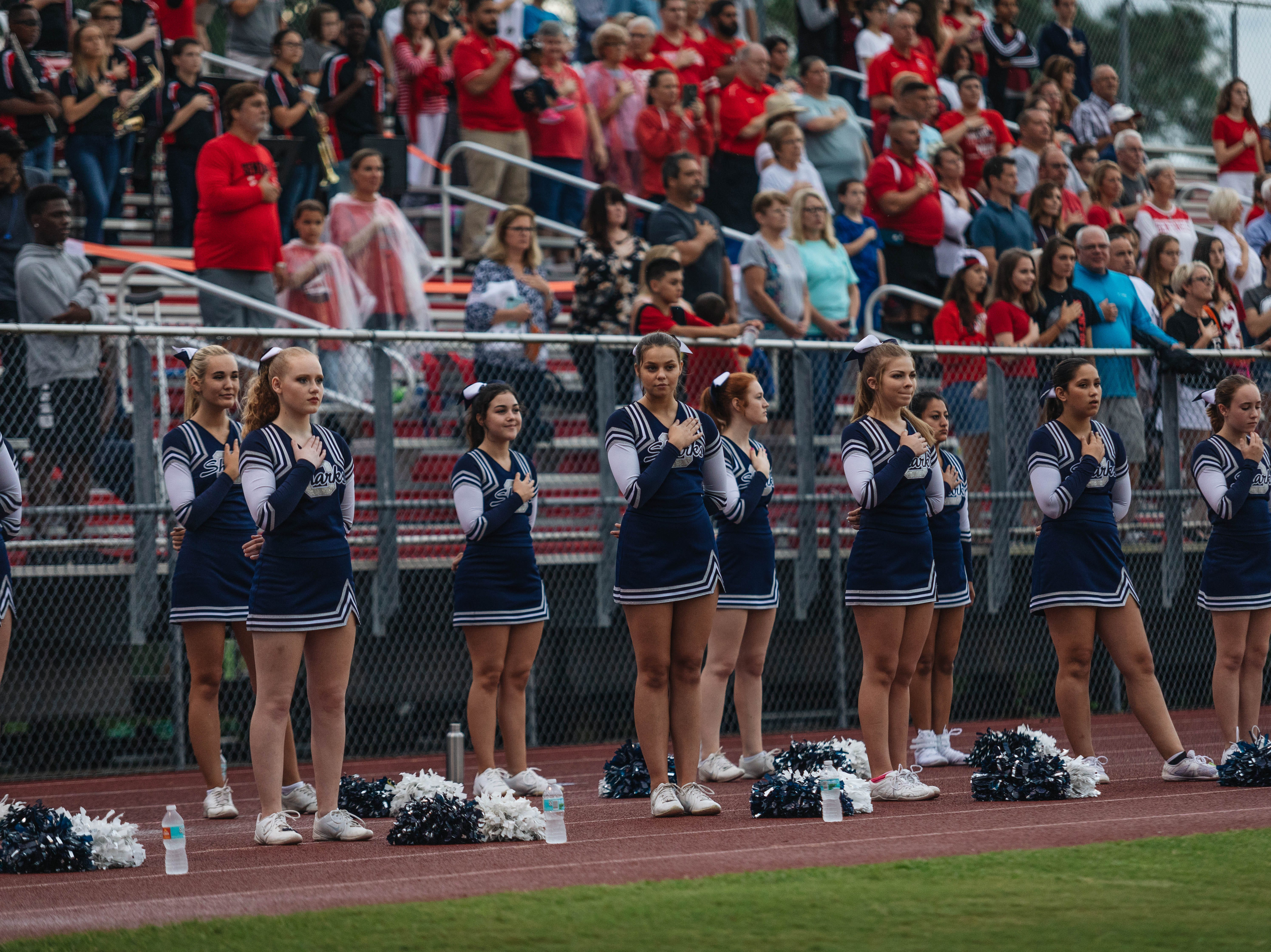 Evangelical Christian School took on Oasis in a high school football game on Sept. 7, 2018.