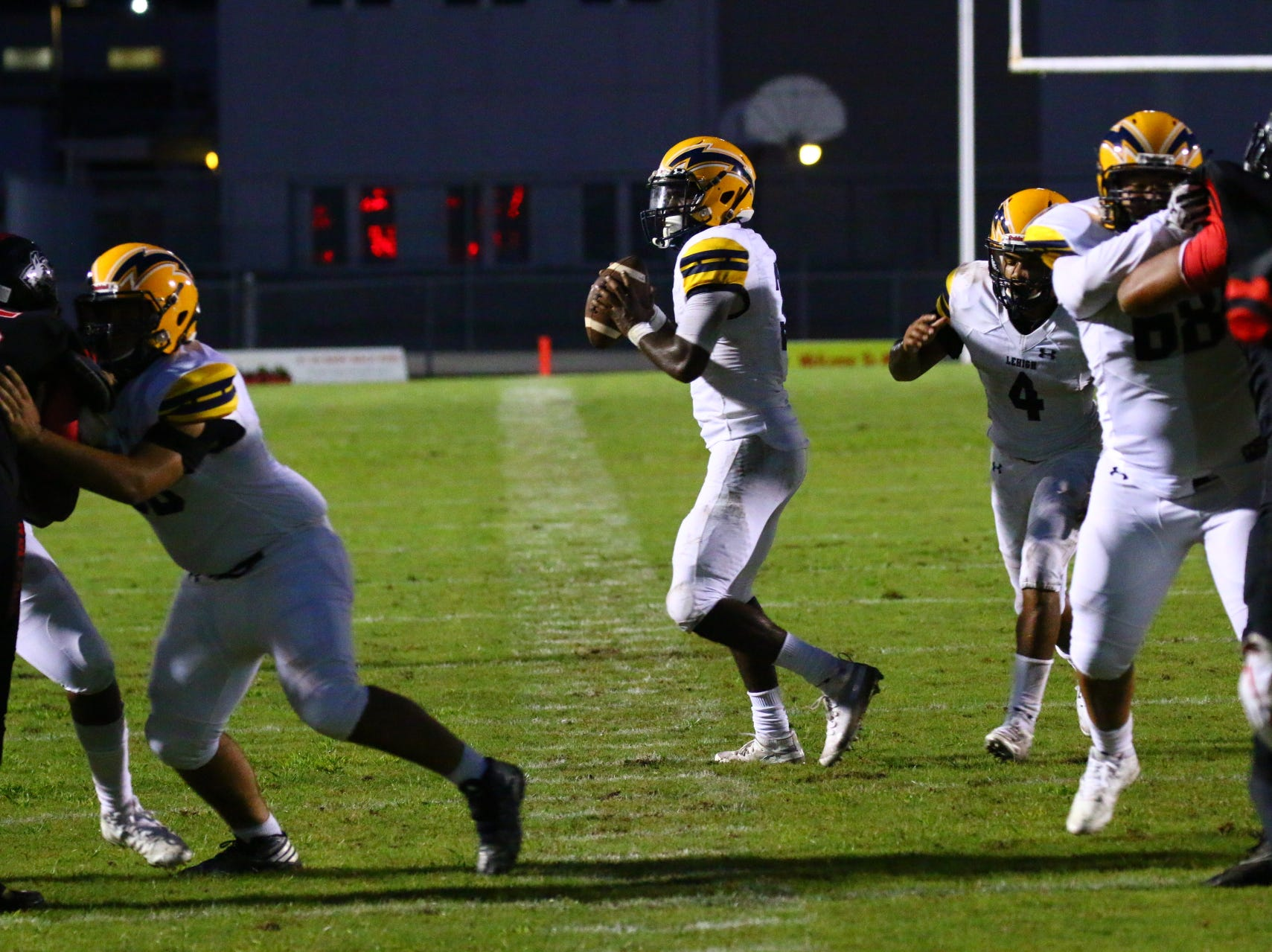 Lehigh visited South Fort Myers and beat the Wolfpack 27-13 on Friday, Sept. 7, 2018.