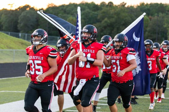 Liberty hosts St. Joseph's Friday, September 7, 2018, at Liberty High.