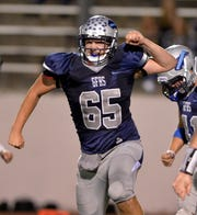 Sam Potoczny of Great Falls High played well on both sides of the ball last fall and will attend Montana Western next fall.