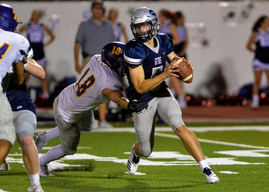 Great Falls High star Blake Thelen led Class AA with about 3,000 yards passing this season and next fall with join the Montana State Bobcats.