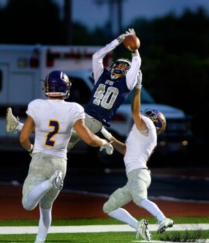 Great Falls High's Kyle Torgerson earned First Team All-State honors as a wide receiver and cornerback.